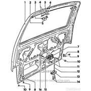 Водительская дверь правая для автомобиля Isuzu Gemini (Исузу Джемини) фото