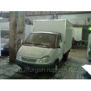 Мебельный фургон - производство.