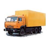 Изотермический фургон КАМАЗ