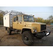 Автомастерская/фургон-вахта ГАЗ-33081 ЕГЕРЬ Садко со сдвоенной кабиной