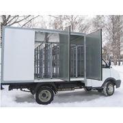 Производство фургонов для перевозки бутилированной воды