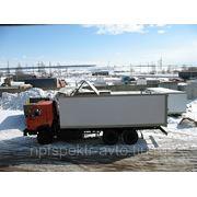 Камаз 65115 фургон с распашной крышей фото