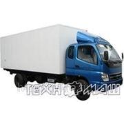 Изотермический фургон Foton BJ5121 (7 тонн) фото