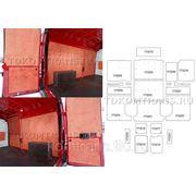 Комплект обшивки грузового отсека автомобиля Citroen Jumper L3H2 13 М³