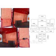 Комплект обшивки грузового отсека автомобиля Peugeot Boxer L2H2 11.5 М³