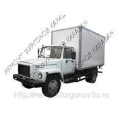 Усиленный изотермический фургон ГАЗ 3309(ГАЗОН) производство и продажа