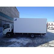 Isuzu NPR75 изотермический фургон 5,2м Класс А фото
