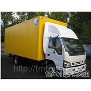 Изотермический фургон ISUZU QL5140XTRFR (9 тонн) фото