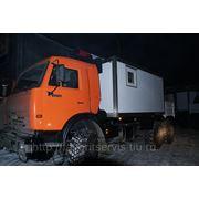 Автомастерская/фургон-вахта КАМАЗ-43118