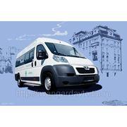 Микроавтобус на базе Пежо Боксер (Peugeot Boxer) 22 места (21+1) фото