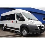 Микроавтобус на базе Пежо Боксер (Peugeot Boxer) 17 мест с регулируемыми сидениями фото