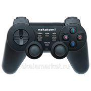 GP-F10RFБеспроводной геймпад GP-F10RF Nakatomi Fighter - RF 2.4G, вибрация, 12 кнопок, USB, черный фото