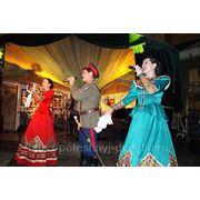 Выкуп невесты по народным обычаям и выступление казачьего коллектива фото