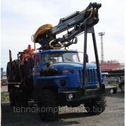 Лесовоз Урал 2007 г.в. с новым 2013 г.в. гидроманипулятором Атлант-90
