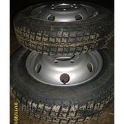 Колесо на газель с камерой 185/75 R16 + диск усиленный фото