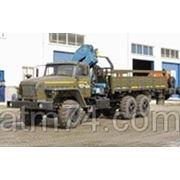 Урал седельный тягач с КМУ ИМ-150 55571 УСТ 5453 фото
