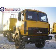 тягач маз 6х6 полноприводный на односкатной ошиновке МАЗ-642508-350-050Р фото