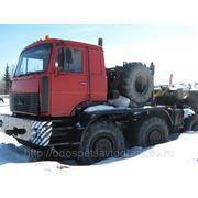 Тягач МАЗ 7429+трал КЗКТ 9101 95гв фото