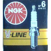 Свечи NGK V-LINE-6 дв. ЗМЗ-405, 406, 409 инжектор фото