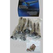 Клапаны впускные с маслоотражательными колпачками к-т (8 шт.; ЗМЗ-406.10) фото