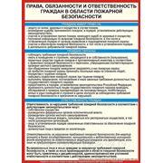 Права, обязанности и ответственность граждан в области пожарной безопасности фото
