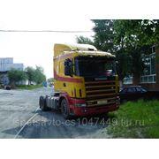 Седельный тягач Scania 124 фото