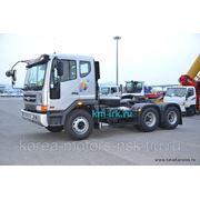 Тягач Daewoo Novus, V3TSF, 420 л./с. нагрузка на седло 20 т. фото