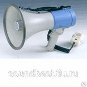 SHOW ER66S ручной мегафон 25 Вт, выносной микрофон, сирена, 12в, 8 батарей фото