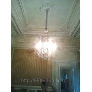Штукатурка потолка по маякам фото