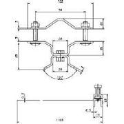 105360 Крепежный хомут с натяжной лентой NIRO (DEHN) фото