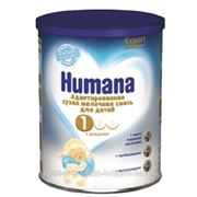 """Смесь """"Humana Expert 1"""", с 0 до 6 мес (350гр) фото"""