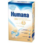 """Смесь """"Humana НА 3"""" с 10 мес (300гр) фото"""