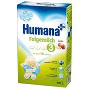 """Смесь """"Humana Фольгемильх 3"""" Яблоко, с 10 мес (500гр) фото"""