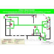 План эвакуации при пожаре фото