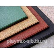 Плитка Playmix резиновая 4 см фото