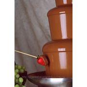 Шоколадный фонтан фото