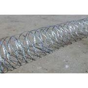 Спиральный барьер безопасности СББ фото