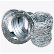 Спиральный барьер безопасности (егоза), пружинная сталь ГОСТ 9389-75 диаметр 500/3 (4 витка на п фото