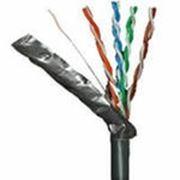 """TC-L2 Cпециальный экранированный всепогодный кабель типа """"витая пара"""" CAT-6е с грозозащитой, 305м фото"""