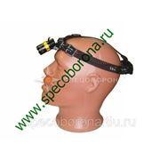Фонарь налобный аккумуляторный с зумом (от прикуривателя) фото