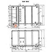 Бак для воды прямоугольный БВ-8 Серия 07.900-2 фото