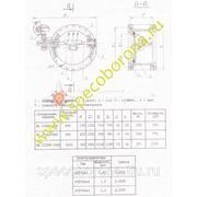 Клапан герметический ИА 01009-800 с эл. приводом фото