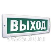 """Молния-220 световое табло """"Выход"""" фото"""