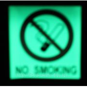 """Вспомогательный знак """"NO SMOKING"""" фото"""