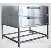 Шкаф пекарский двухсекционный ЭШ-2к фото