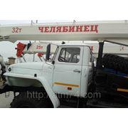 Автокран «Челябинец» КС-45721-17 (УРАЛ 4320 6х6, г/п 25т., стрела 21,9м) фото