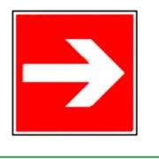 Знаки пожарной безопасности Направляющая стрелка фото