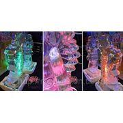 Ледовые скульптуры Ледяные фигуры фото
