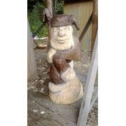Деревянная скульптура фото