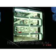 Оформление витрин световыми коробами фото